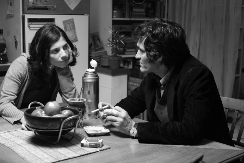 Vincent Gallo con Maribel Verdù in un'immagine del film Tetro, diretto da Coppola