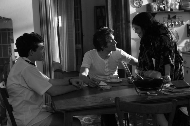 Vincent Gallo e Alden Ehrenreich con Maribel Verdù in un'immagine del film Tetro, diretto da Coppola