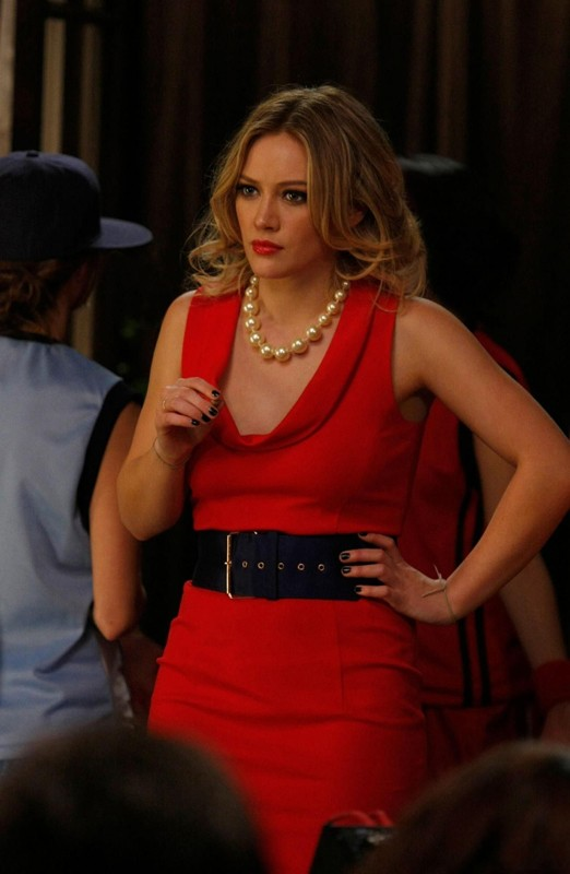 Hilary Duff (Olivia) nell'episodio The Last Days of Disco Stick della terza stagione di Gossip Girl
