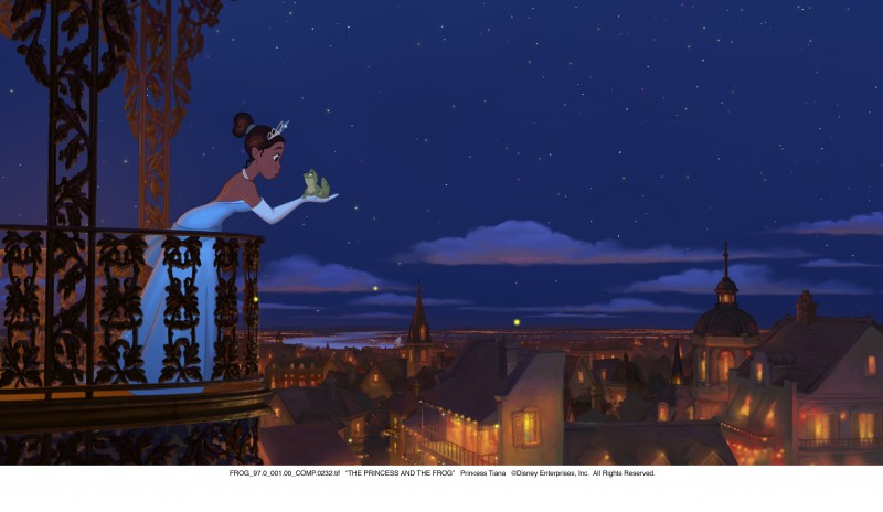 I due protagonisti del film Disney La principessa il ranocchio