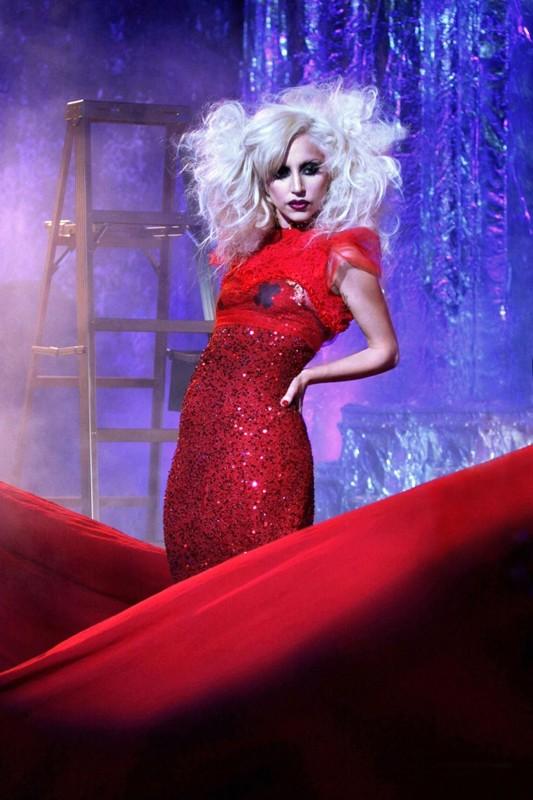 La Guest star Lady Gaga nell'episodio The Last Days of Disco Stick di Gossip Girl