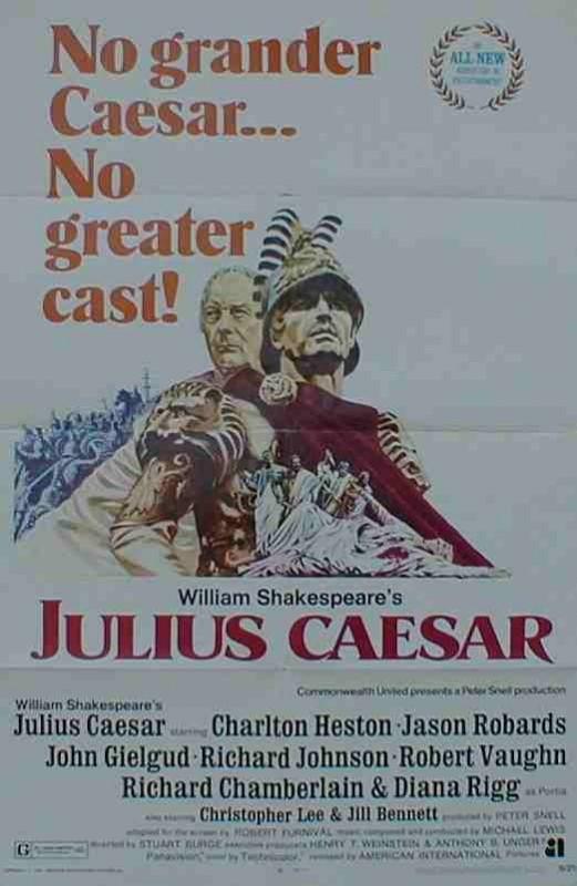 La locandina di Ventitre pugnali per Cesare