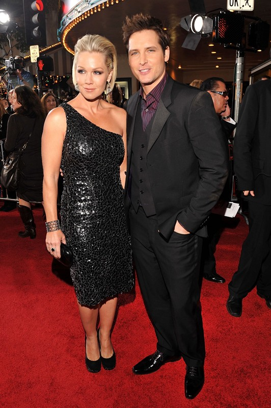 Jennie Garth e Peter Facinelli alla premiere mondiale di The Twilight Saga: New Moon, a Los Angeles, il 16 Novembre 2009