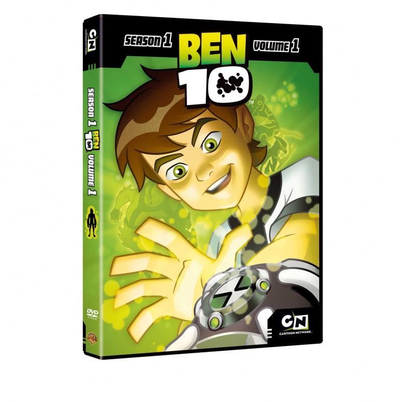 La copertina di Ben 10 - Stagione 01 - Volume 1 (dvd)