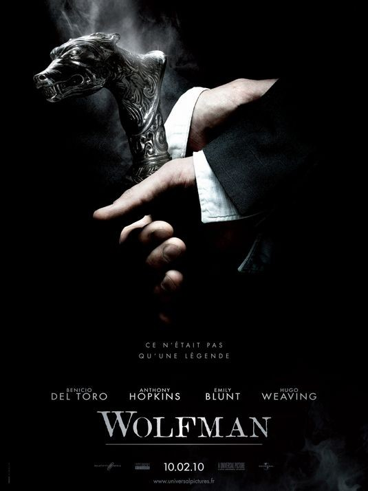 Locandina francese per The Wolfman