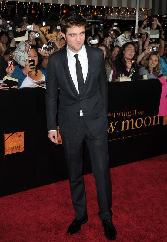 Robert Pattinson alla premiere del film The Twilight Saga: New Moon, a Los Angeles, il 16 Novembre 2009