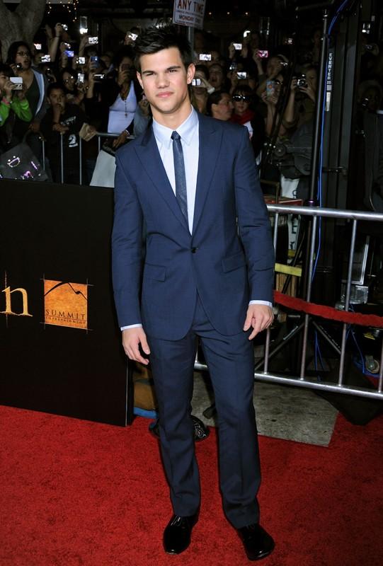 Taylor Lautner alla premiere del film The Twilight Saga: New Moon, a Los Angeles, il 16 Novembre 2009