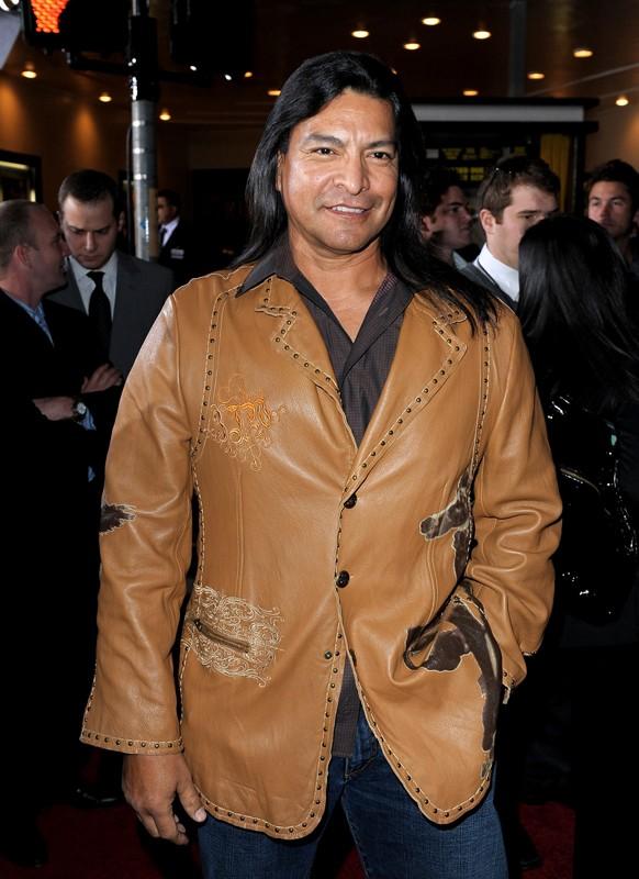 Gil Birmingham alla premiere del film The Twilight Saga: New Moon, a Los Angeles, il 16.11.2009