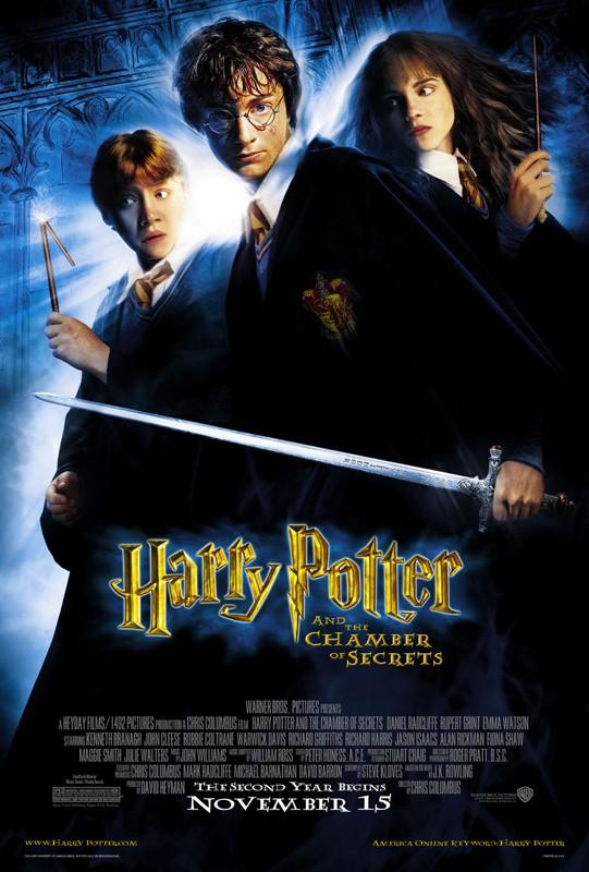 Il poster americano di Harry Potter e la Camera dei Segreti