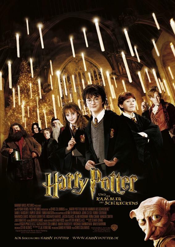 Il poster tedesco di Harry Potter e la Camera dei Segreti