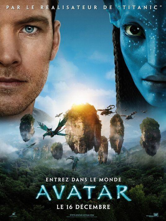 Poster francese per Avatar