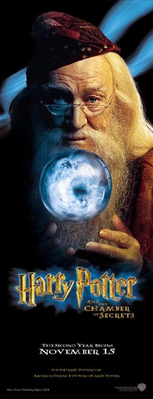 Un character poster di Albus Silente per il film Harry Potter e la Camera dei Segreti