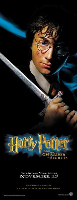 Un character poster di Harry Potter per il film Harry Potter e la Camera dei Segreti