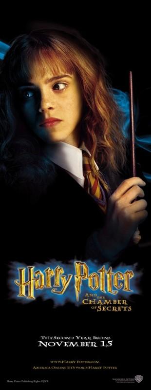 Un character poster di Hermione Granger per il film Harry Potter e la Camera dei Segreti