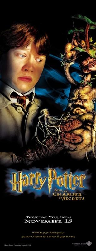 Un character poster di Ron Weasley per il film Harry Potter e la Camera dei Segreti