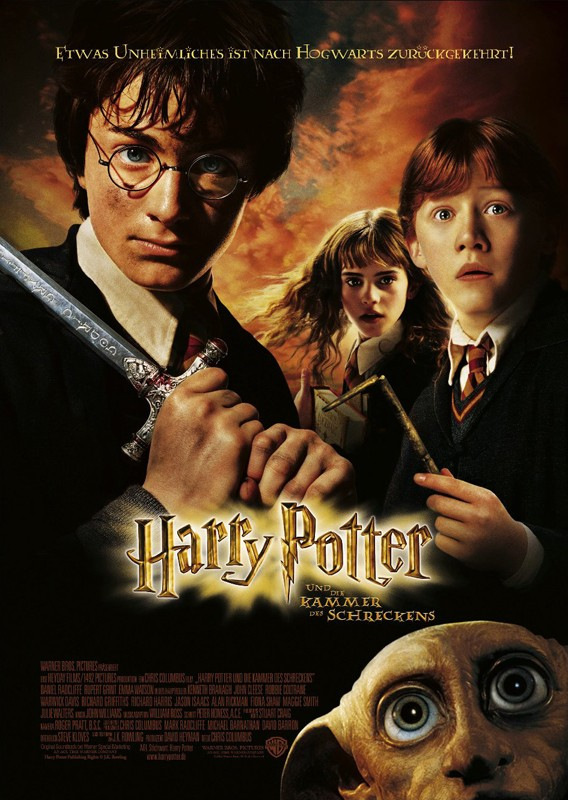 Un secondo poster tedesco di Harry Potter e la Camera dei Segreti