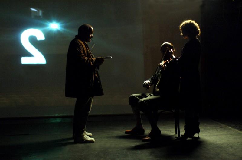 Una suggestiva sequenza del film Adam Resurrected
