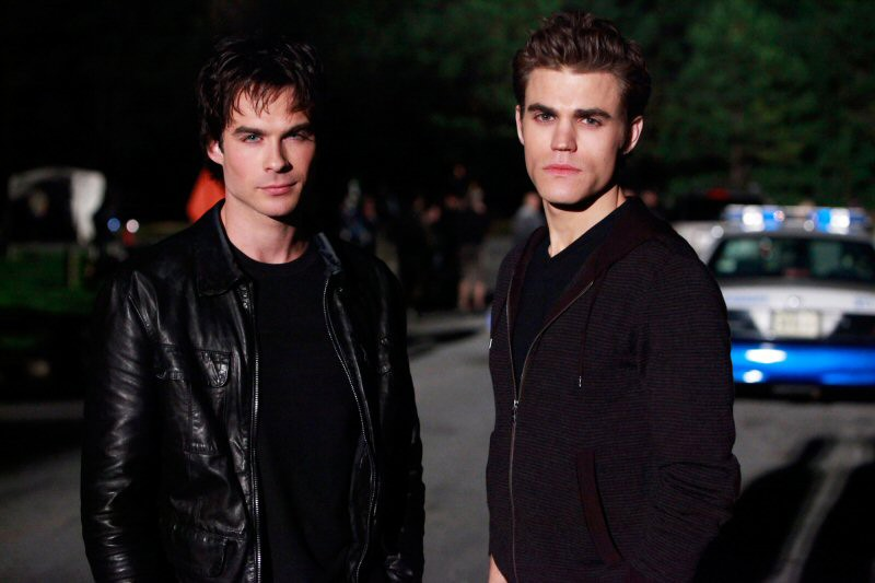 Una foto di Ian Somerhalder e Paul Wesley per l'episodio The Turning Points di The Vampire Diaries