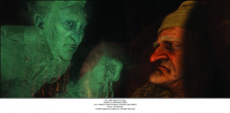 A Christmas Carol: una spettrale apparizione per l'anziano Ebezener Scrooge
