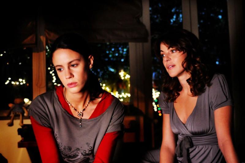 Claudia Gerini in una sequenza del film Meno male che ci sei, di Luis Prieto