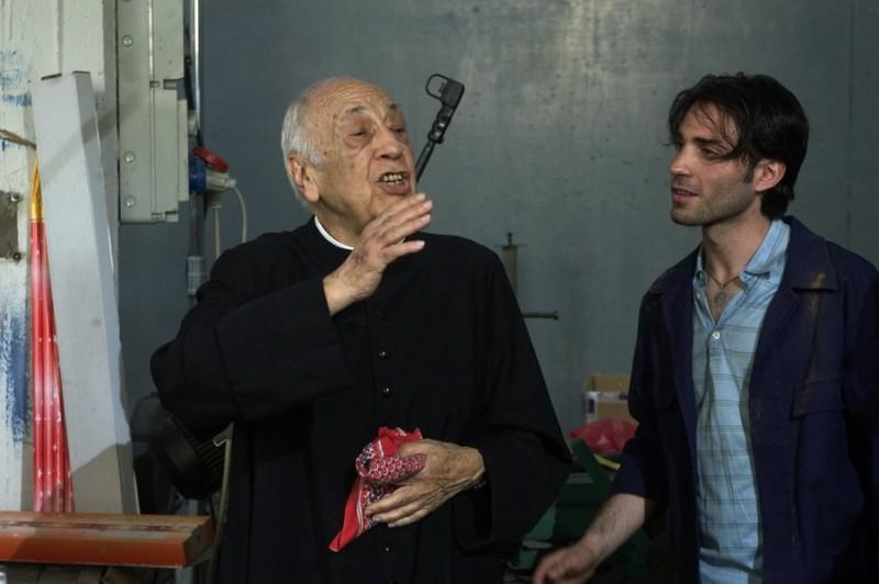 Fausto Verginelli e Giacomo Furia nel film Senza amore (2007)