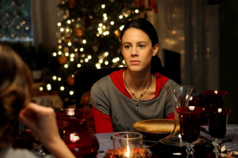 l'attrice Chiara Martegiani nel film Meno male che ci sei, di L. Prieto