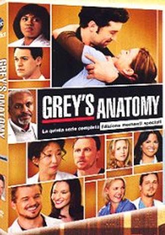 La copertina di Grey's Anatomy - Stagione 5 (dvd)