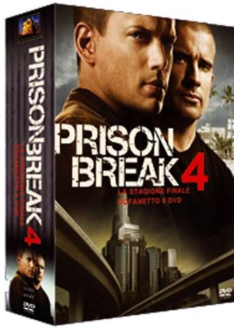 La copertina di Prison Break - Stagione 4 (dvd)