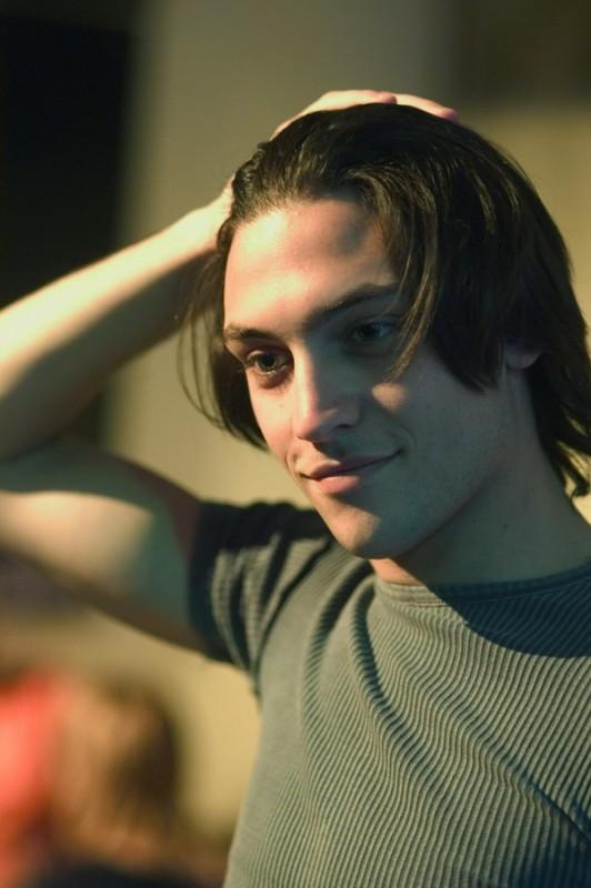 Marco Cacciapuoti in una immagine del film Senza amore
