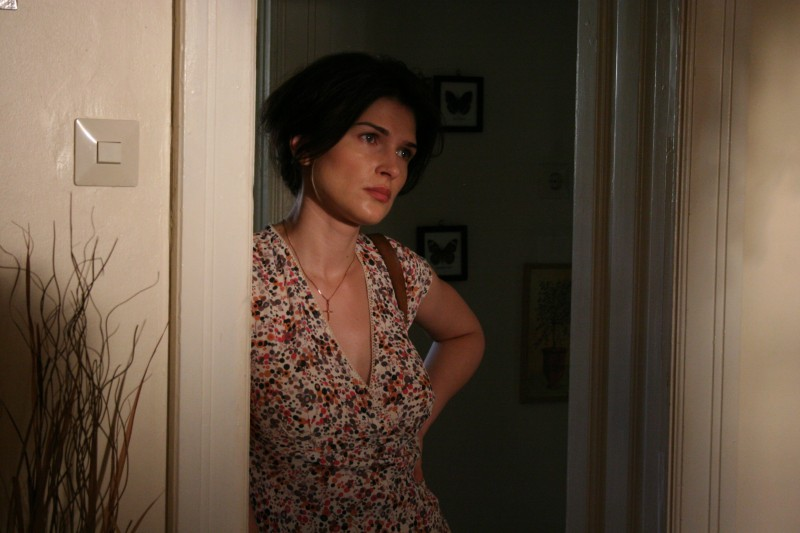 Monica Barladeanu in un'immagine del dramma Francesca di Bobby Paunescu