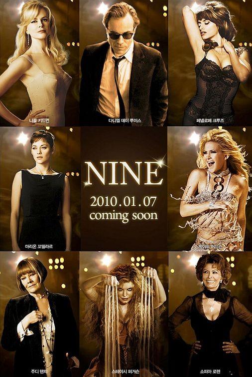 Poster coreano per Nine