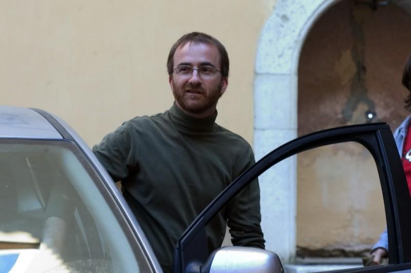 Renato Giordano in una immagine del film Senza amore