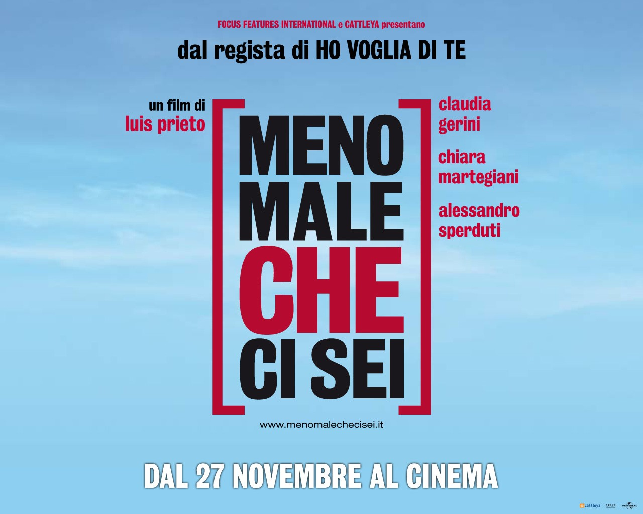 Un wallpaper del film Meno male che ci sei