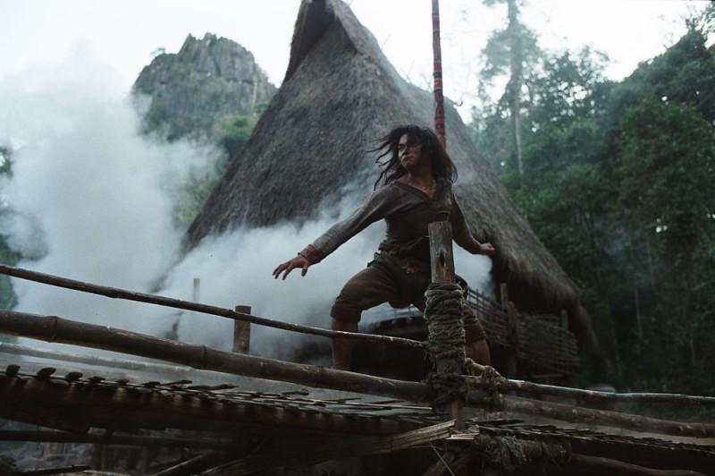 Una scena del film di Muay Thai Ong Bak 2