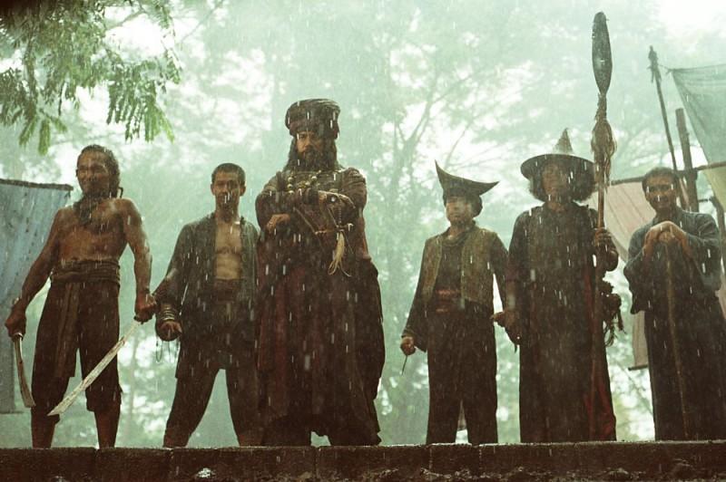 Una scena del sequel di Ong Bak