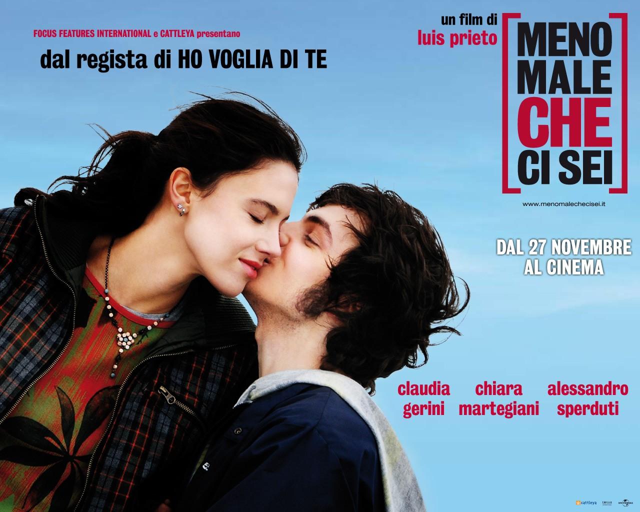 Wallpaper: Claudia Gerini e Alessandro Sperduti nel film Meno male che ci sei