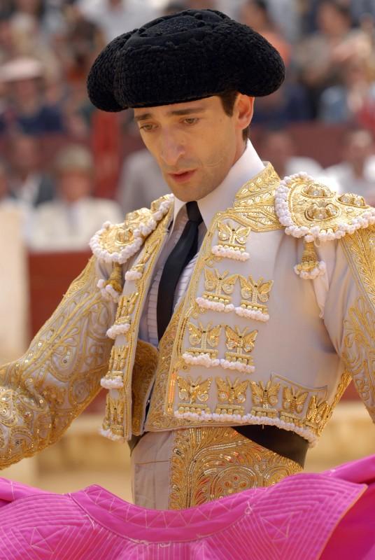Adrien Brody è il toreador Manuel Rodríguez Sánchez in Manolete (2007)