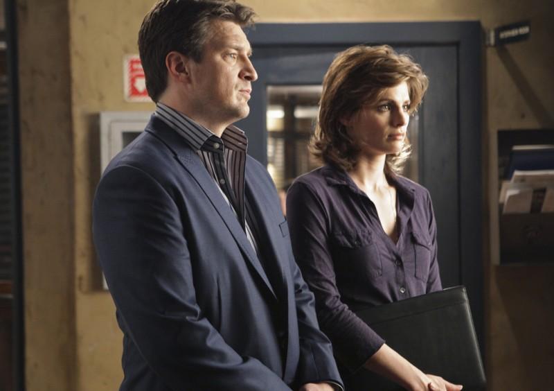 Castle: Stana Katic e Nathan Fillion nell'episodio One Man's Treasure