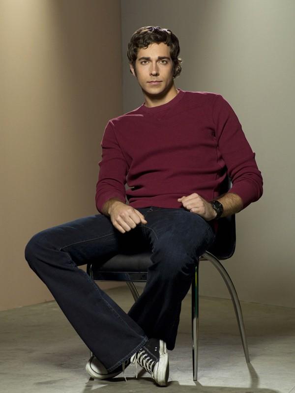 Chuck (Zachary Levi) in un'immagine della stagione 2