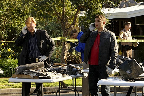 CSI Miami: David Caruso e Jonathan Togo nell'episodio Count Me Out