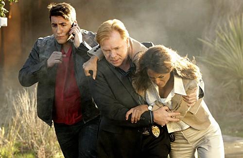 CSI Miami: David Caruso, Jonathan Togo e Eva La Rue nell'episodio Count Me Out
