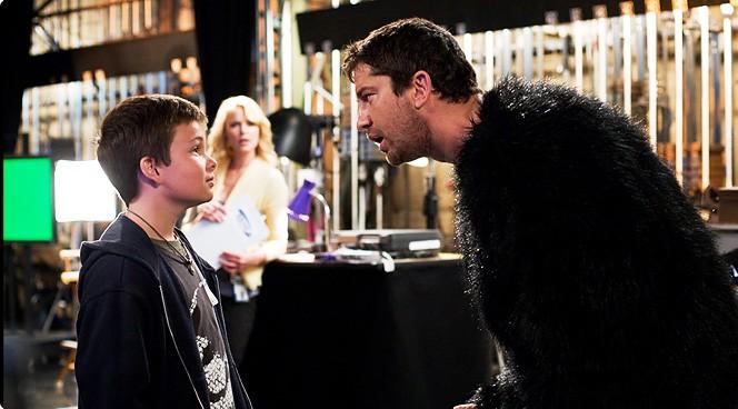 Gerard Butler in una immagine del film La dura verità di R. Luketic.