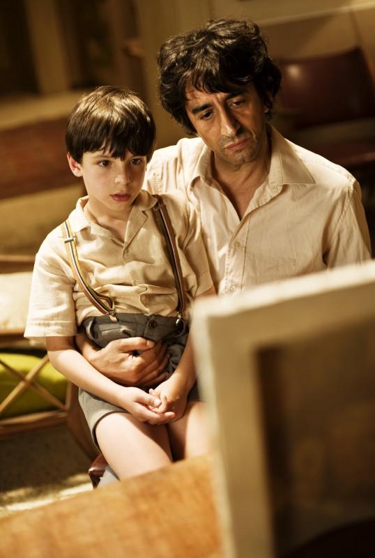 Guido Giaquinto e Sergio Rubini in una scena del film L'uomo nero