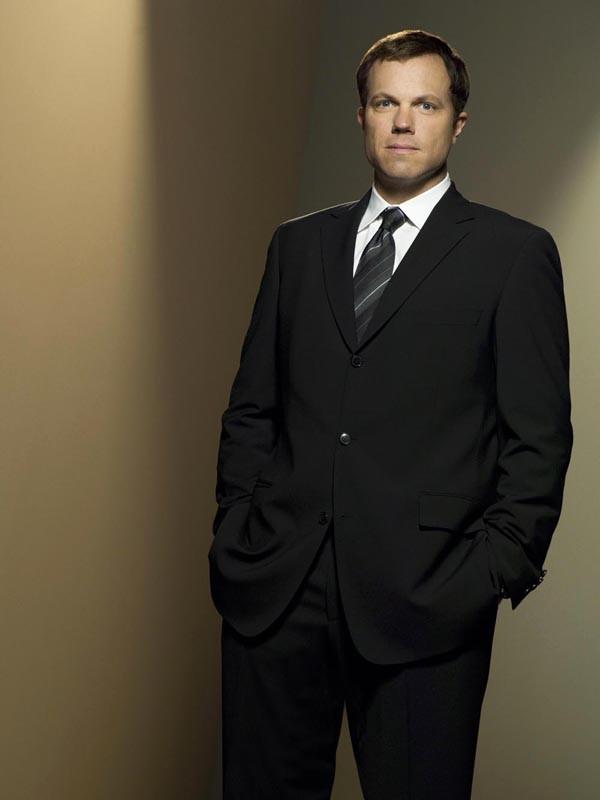 John Casey (Adam Baldwin) in un'immagine della stagione 2 di Chuck