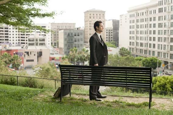 Joseph Gordon-Levitt in una scena del film 500 giorni insieme