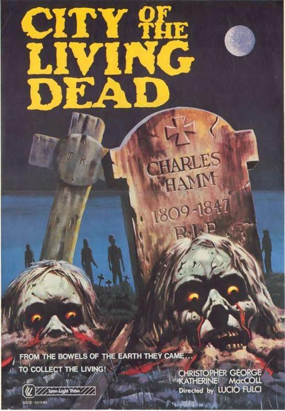Locandina del film Paura nella città dei morti viventi (1980)