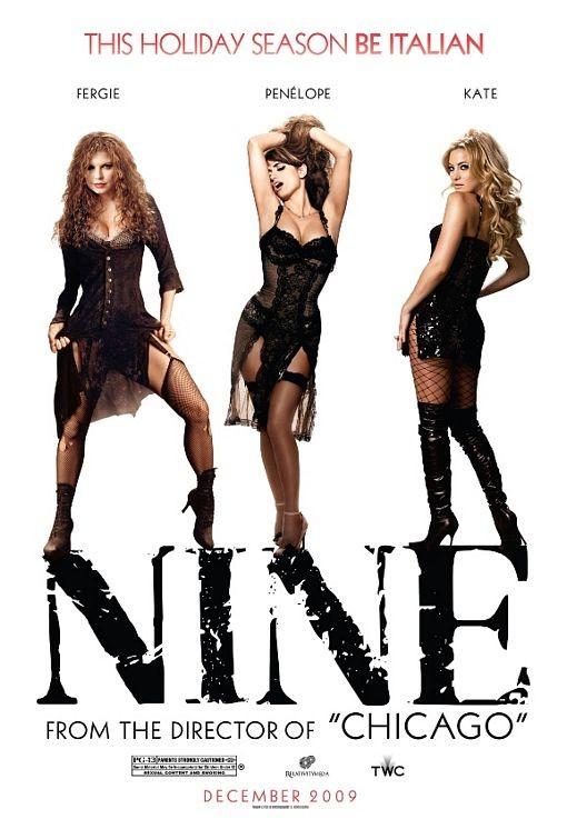 Poster tutto al femminile per Nine