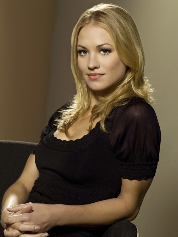 Sarah Walker (Yvonne Strahovski) in un'immagine della stagione 2 di Chuck