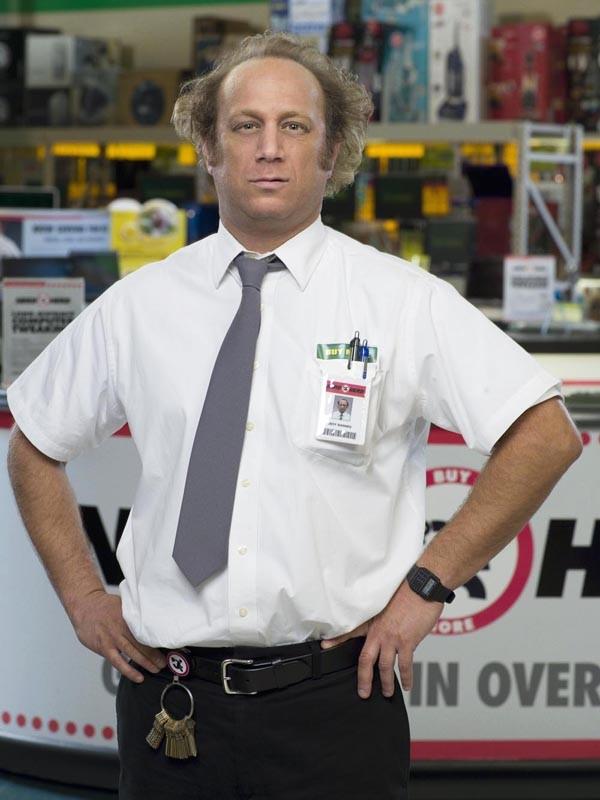 Scott Krinsky in un'immagine promo della seconda stagione di Chuck