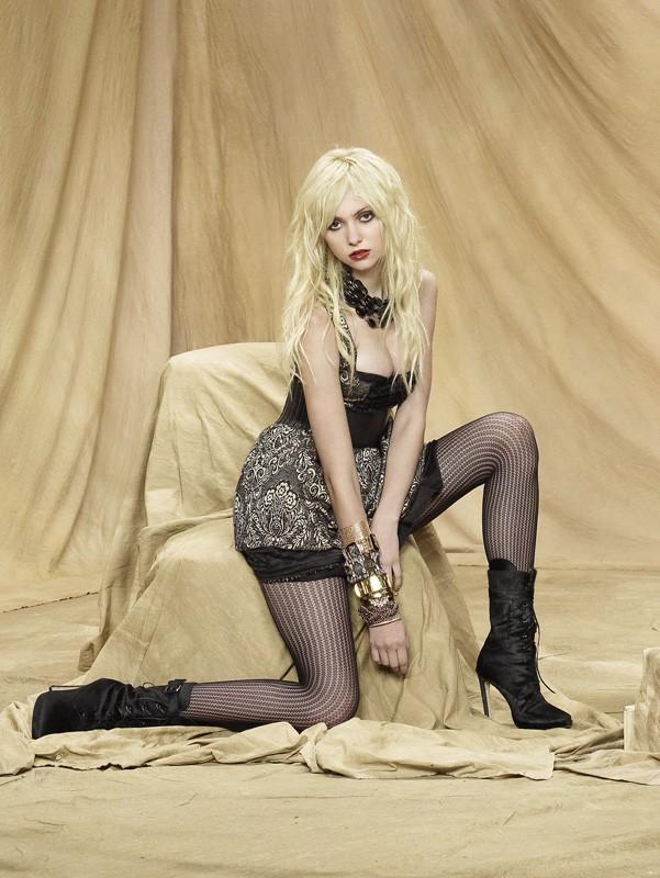 Taylor Momsen in una foto promozionale della stagione 3 di Gossip Girl